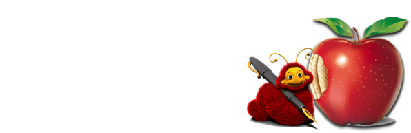Fuzzy Red Pen Copywriting, Design & Book Editing Logo